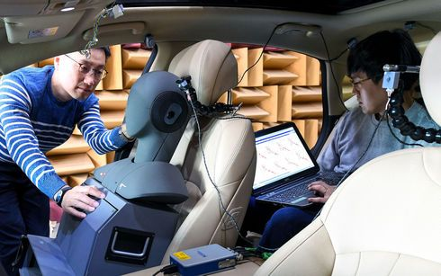HMG desarrolla la 1ª tecnología de control activo de ruido de rodadura