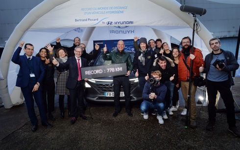 Bertrand Piccard y el NEXO, baten un record mundial