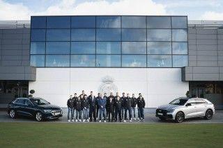 Los jugadores del Real Madrid Baloncesto ya tienen sus nuevos Audi