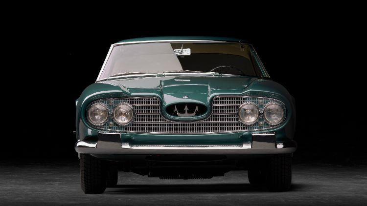 Maserati celebra el 60° aniversario de la presentación del coupé 2+2 5000 GT en el Salón del automóvil de Turín