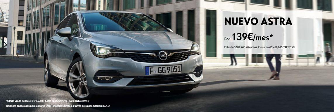 [Opel] Astra Header