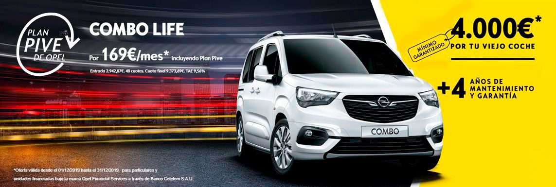 [Opel] Nuevo Combo Life Header
