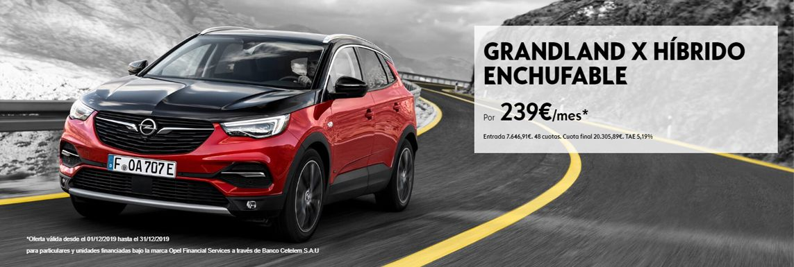 [Opel] NUEVO GRANDLAND X HÍBRIDO ENCHUFABLE Header