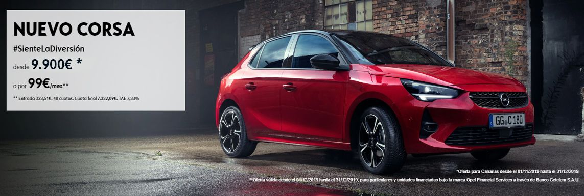 [Opel] Nuevo Opel Corsa Header