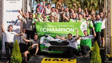 DOSSIER DE PRENSA - ŠKODA GANA TODOS LOS TÍTULOS DE WRC 2 PRO Y WRC 2 EN EL CAMPEONATO MUNDIAL DE RALLY FIA 2019