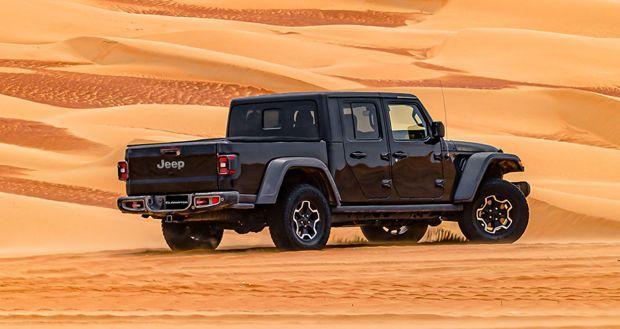 El Jeep® Gladiator 2020 se presentará en Oriente Medio en el legendario Festival de Liwa