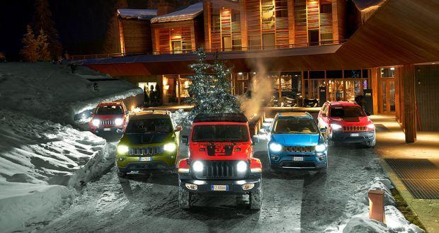 Comienza la Winter Experience de la marca Jeep® en Champoluc