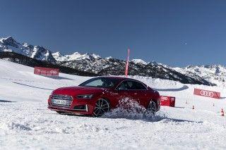 Arranca la nueva temporada de los cursos de conducción Audi Winter driving experience