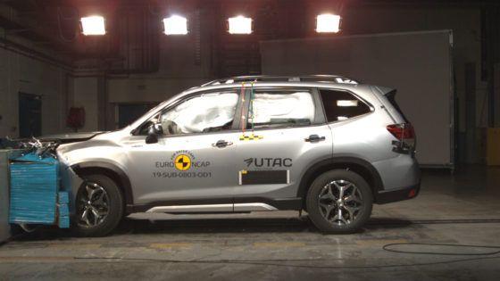 Nuevo Forester Eco Hybrid, cinco estrellas EURO NCAP y coche más seguro de su categoría en protección infantil