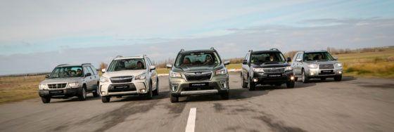 El ADN Subaru de siempre sumado a todas las novedades del sistema e-BOXER en el nuevo Subaru Forester ecoHYBRID