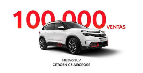 NUEVO SUV CITROËN C5 AIRCROSS: ¡100.000 VENTAS!