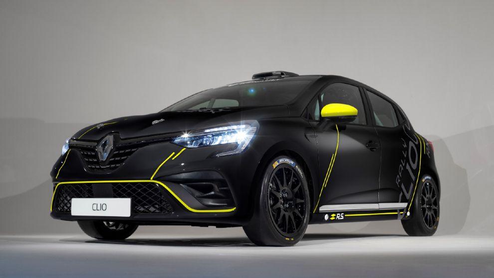 Renault España relanza su trofeo de rallies con el nuevo Clio RSR