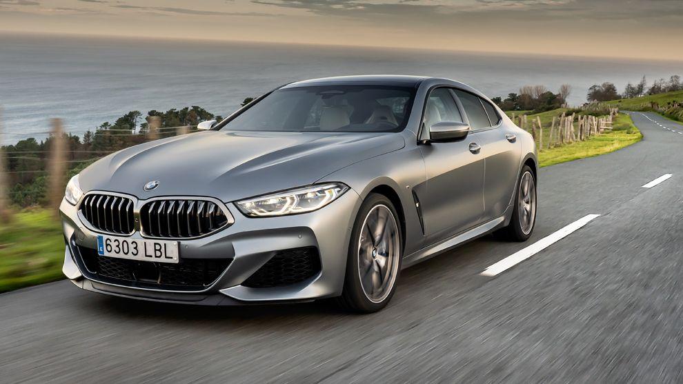 Al volante del BMW Serie 8 Gran Coupé 2020: elegancia deportiva de hasta 530 CV