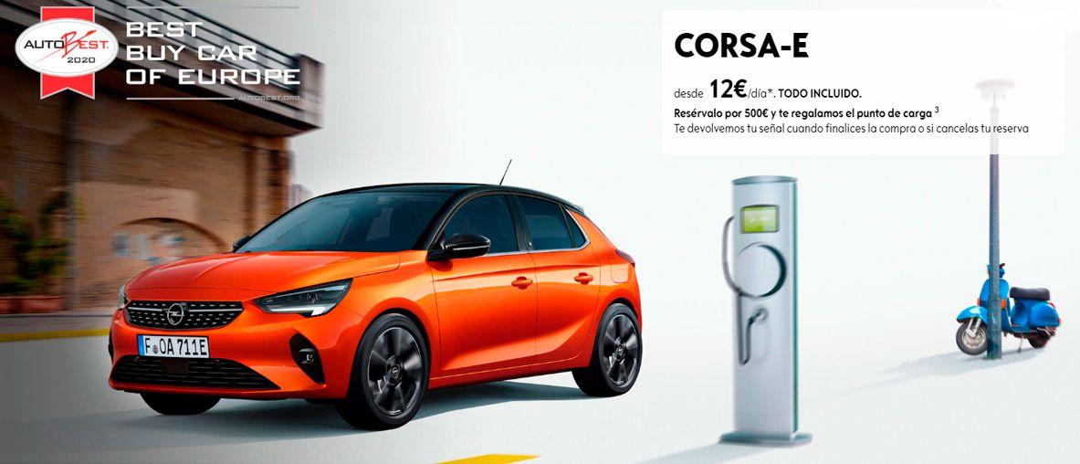 Nuevo Opel Corsa-e,para vivir una nueva experiencia 100% eléctrica