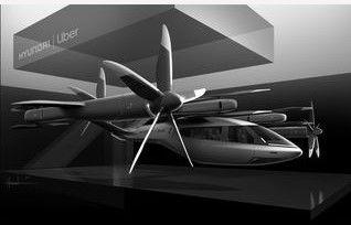 Asociación con Uber para viajes aéreos compartidos y lanzan taxi aéreo