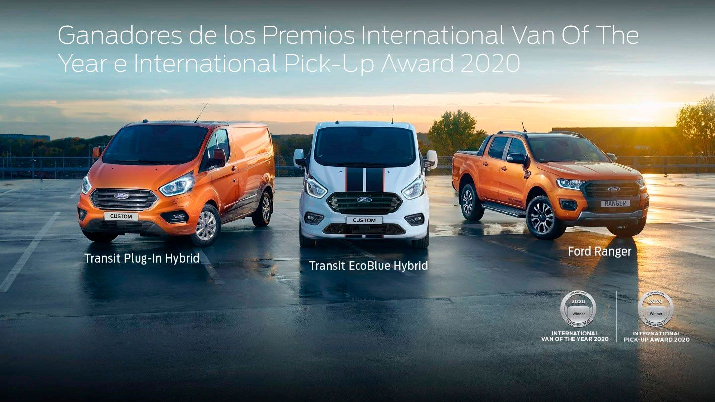 GANADORES DE LOS PREMIOS INTERNATIONAL VAN OF THE YEAR E INTERNATIONAL PICK-UP AWARD 2020
