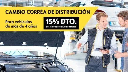 CAMBIO CORREA DE DISTRIBUCIÓN: 15% de descuento en tu Servicio Oficial