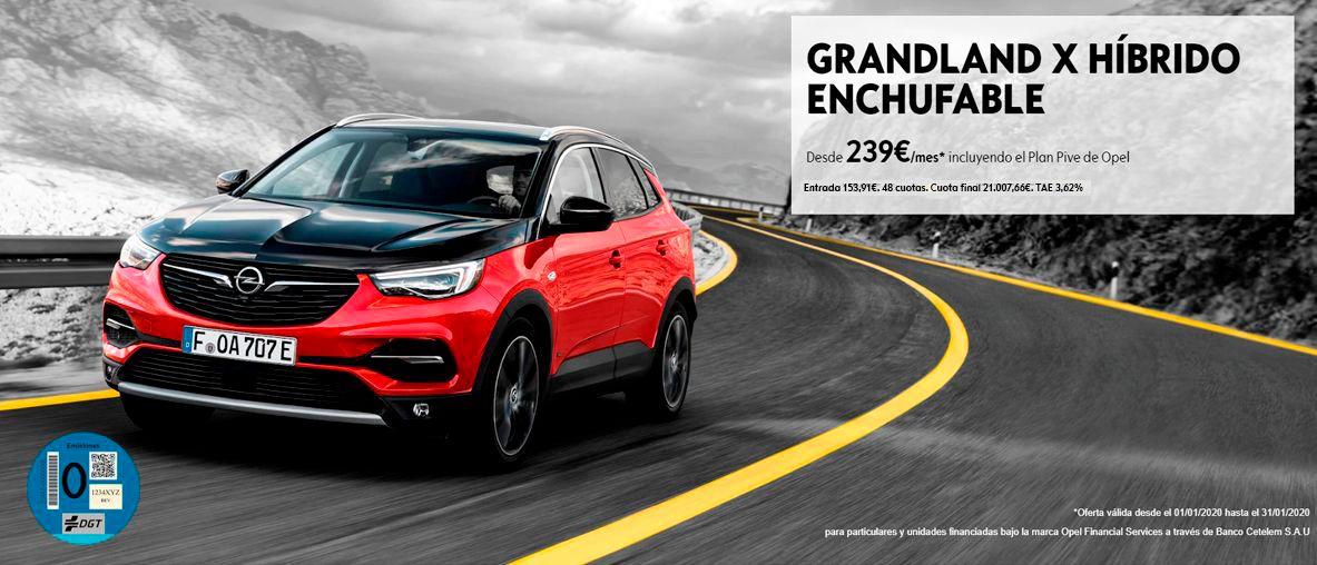 Grandland X híbrido enchufable, el nuevo SUV híbrido enchufable de Opel en Canarias