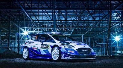 Así es el coche de Ford para el Mundial de Rallys