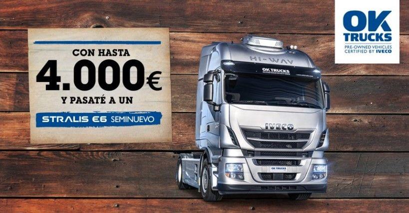 IVECO 'WANTED': HASTA 4.000 EUROS DE SOBREVALORACIÓN DE UN USADO CONTAMINANTE AL COMPRAR UN STRALIS EURO6 SEMINUEVO