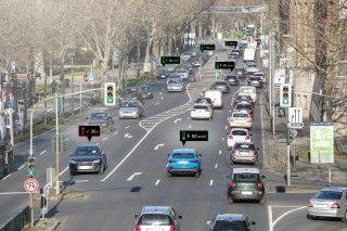 Audi se conecta con la red de semáforos de Düsseldorf