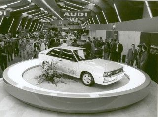Audi Tradition celebra 40 años de quattro