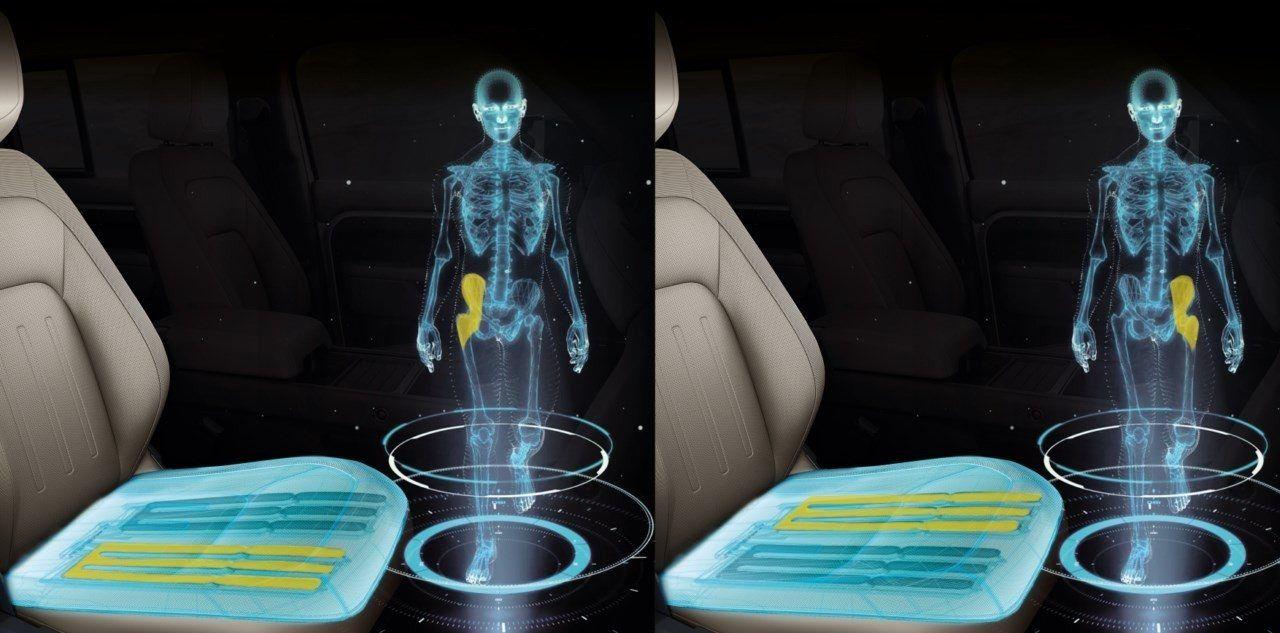 Jaguar y Land Rover trabajan en nueva tecnología de asientos