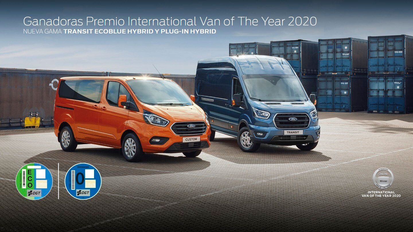 GANADORES DE LOS PREMIOS INTERNATIONAL VAN OF THE YEAR E INTERNATIONAL 2020