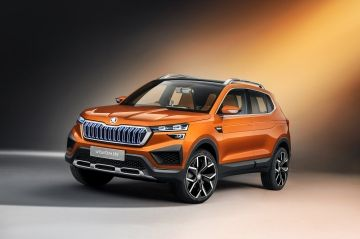 ŠKODA EN EL AUTO EXPO 2020 EN NUEVA DELHI: EL PROTOTIPO VISION IN ES EL PRIMER COCHE DEL PROYECTO INDIA 2.0
