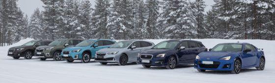 Subaru Snow Days, una auténtica experiencia sobre hielo