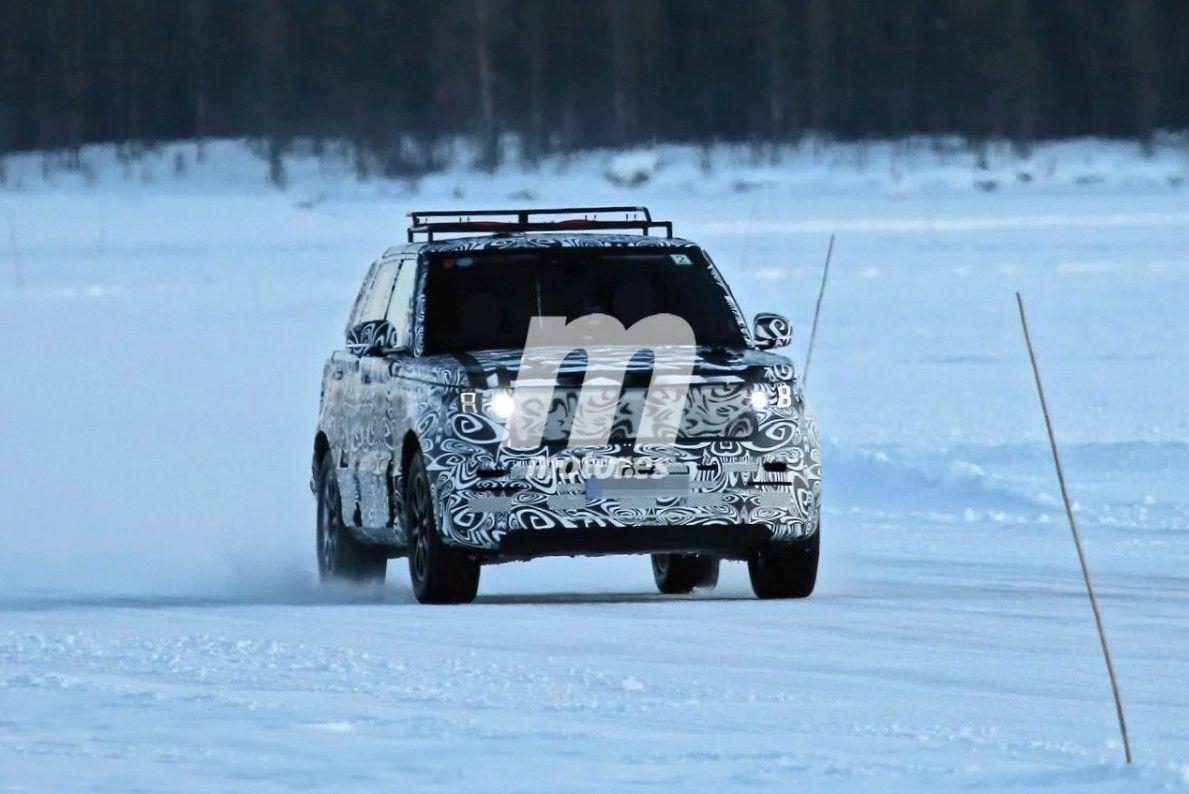 La nueva generación del Range Rover Sport, que llegará en 2022, debuta en fotos espía