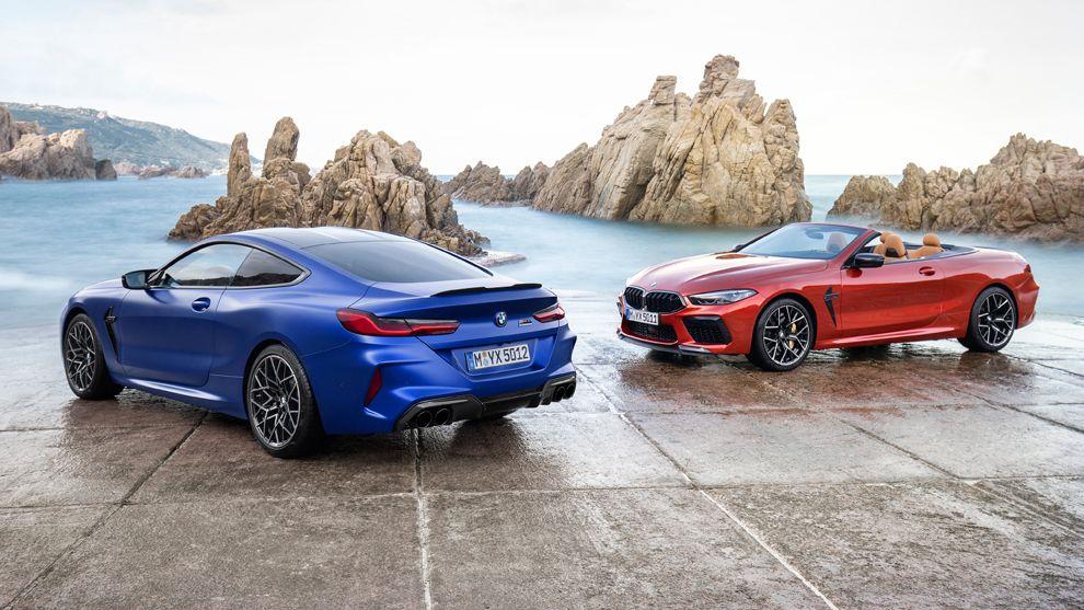 Modelos de coches  Al volante del BMW M8 Competition: 625 caballos de poderío absoluto