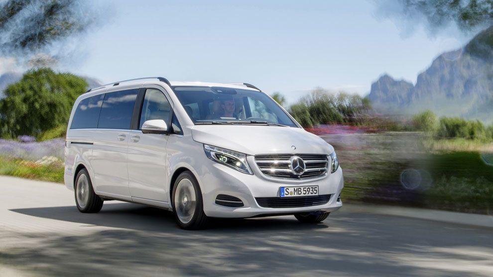 Mercedes V 220d: el confort a lo grande como filosofía de vida