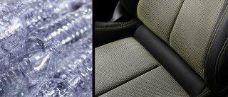 Nuevo Audi A3: un concepto de interior sostenible, con tapicería realizada a partir de polietileno