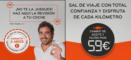 NUEVAS OFERTAS: PREPARA EL COCHE PARA PRÓXIMOS DESPLAZAMIENTOS