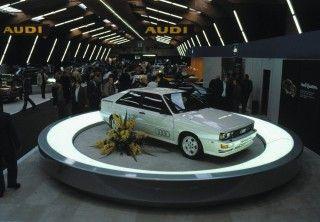 Cuatro aros, cuatro ruedas motrices: 40 años de quattro