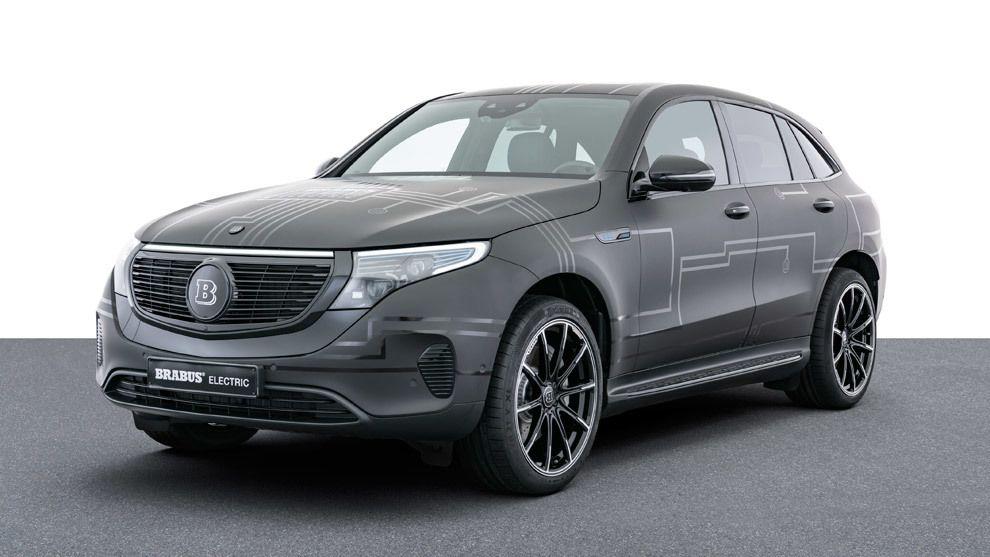 Brabus EQC 400, alto voltaje para el SUV eléctrico de Mercedes-Benz