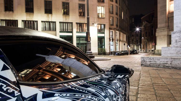 Comienzan las pruebas del prototipo del nuevo Maserati MC20