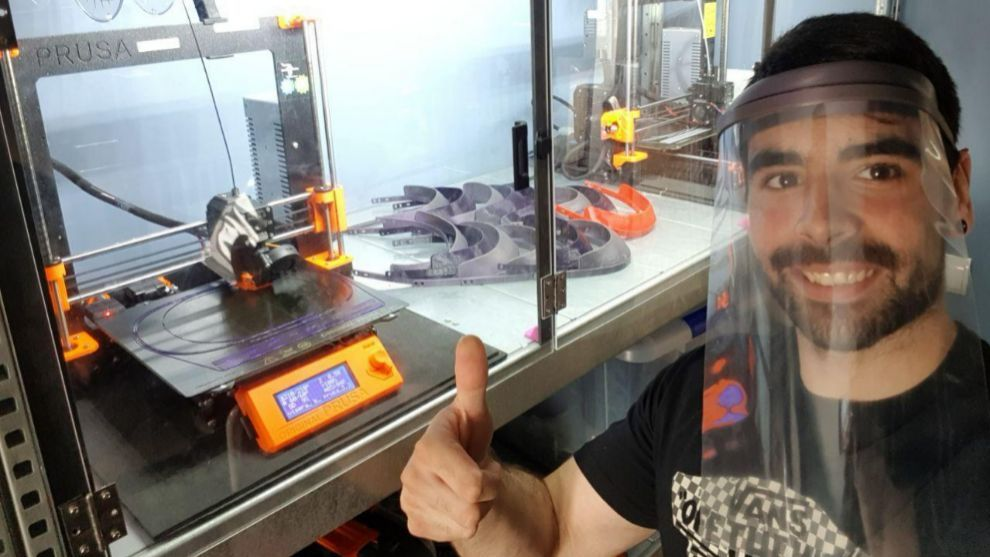 'Renault al rescate': sus trabajadores fabrican mascarillas en impresoras 3D
