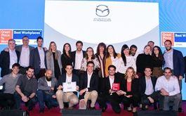 Mazda Automóviles España revalida su título como mejor empresa de automoción para trabajar