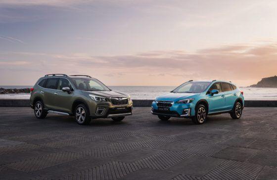 Gama Subaru , máxima seguridad de serie y etiqueta eco
