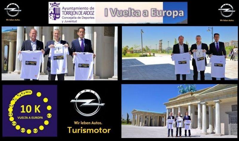 """TURISMOTOR - PATROCINADOR DE """"LA I VUELTA A EUROPA"""""""