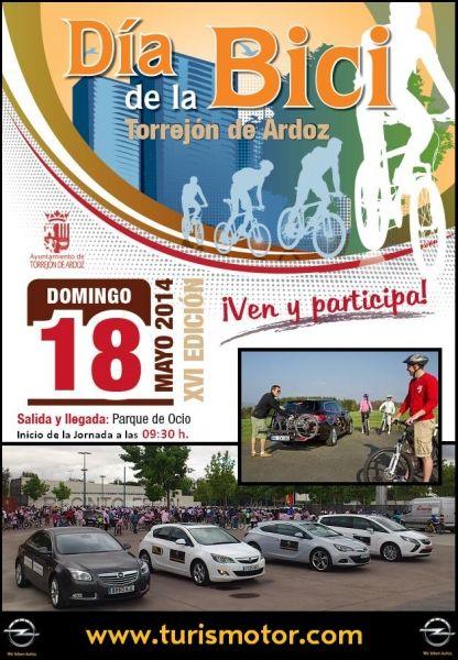 """Turismotor - Patrocinador de """"El Día de la Bicicleta"""""""