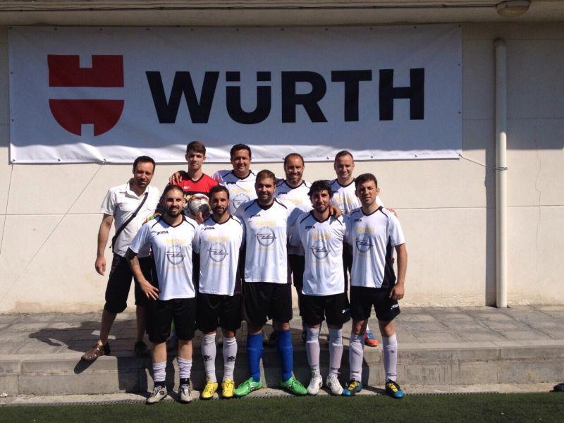 AGROGIL participa en el torneo WÜRTH de Futbol7