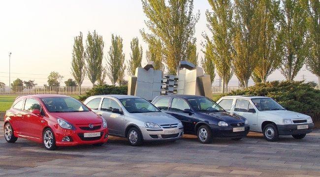 30 años de Opel Corsa