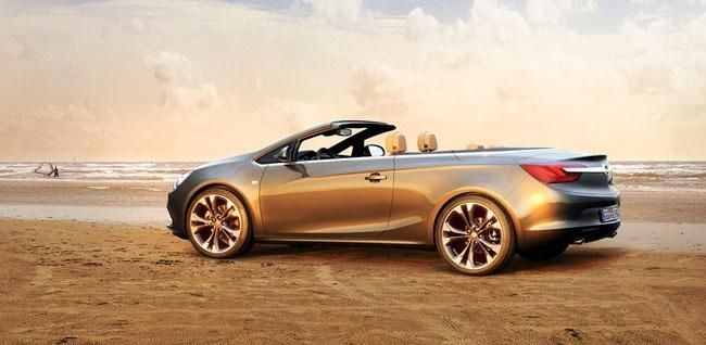 Opel Cabrio con capota de lona