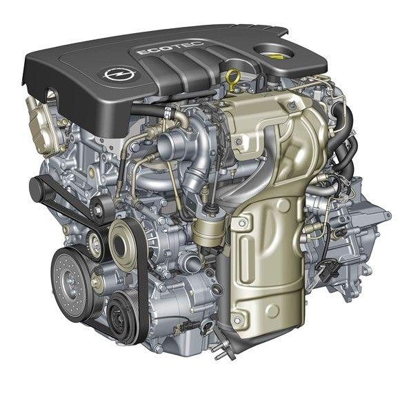 Nuevo motor 1.6 CDTI ECOTEC
