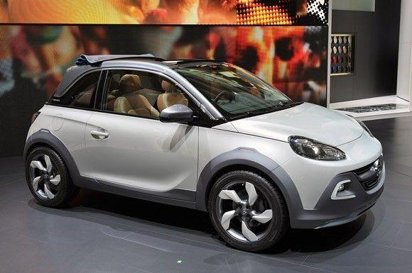 Opel Adam Rocks Concept en Ginebra