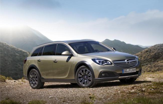 Opel Insignia Country Tourer en el Salón de Fráncfort