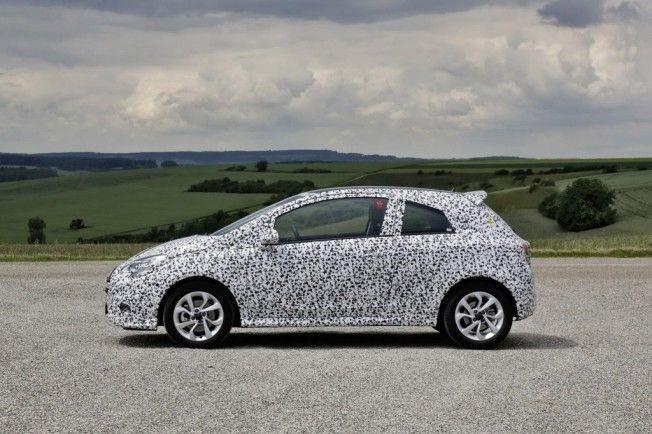 Opel Corsa 2015 adelantamos una imagen